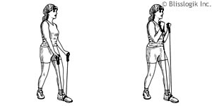 Band Bicep Exercises